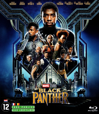 Jaquette Blu-ray Black Panther