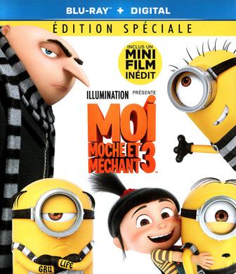 Jaquette Blu-ray Moi, moche et méchant 3