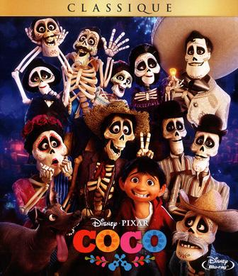 Jaquette Blu-ray Coco