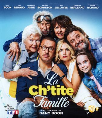 Jaquette Blu-ray La Ch'tite Famille