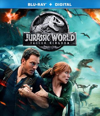 Jaquette Blu-ray Jurassic World: Fallen Kingdom