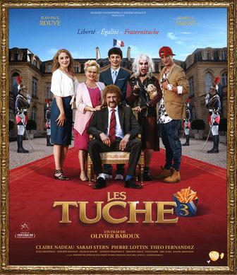 Jaquette Blu-ray Les Tuche 3