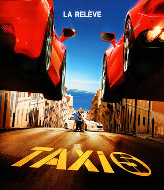 Jaquette Blu-ray Taxi 5